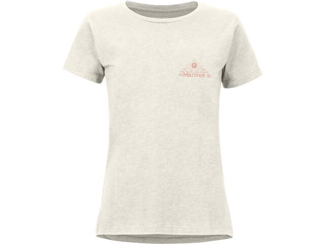 Marmot Arrow T-shirt Dames, wit